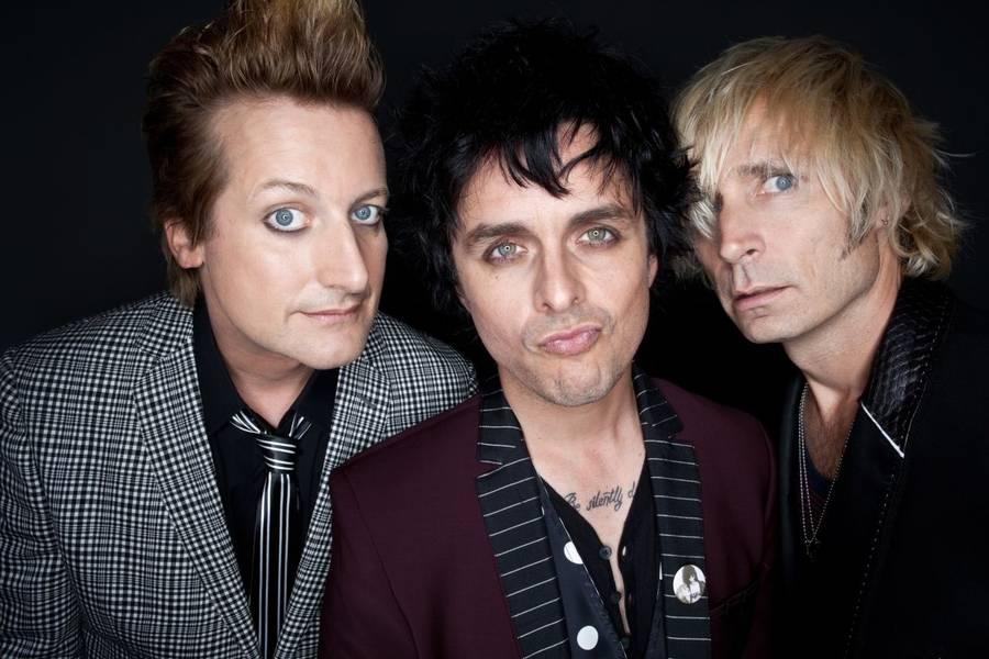 Green Day - aktuelle med første del af en trilogi, som afsluttes i januar. (Foto: Warner)