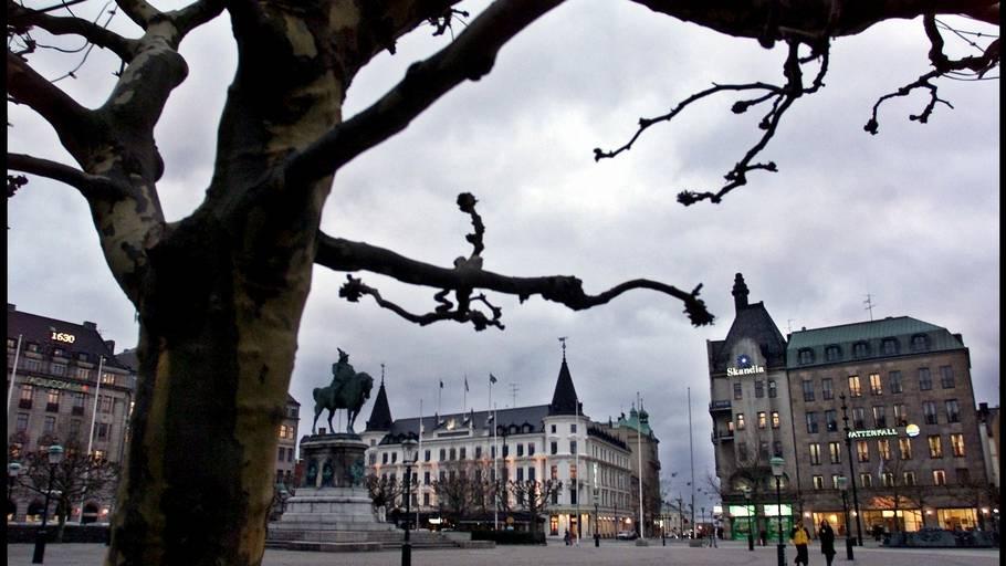 47046a9f5543 Stortorget i Malmö er centrum for byens store indkøbsmuligheder - og det er  her byens officielle