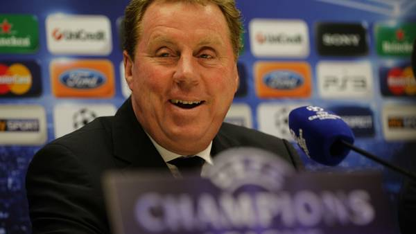 Harry Redknapp er bookmakernes favorit til jobbet som akut afløser for Fabio Capello. (Foto: AP/Luca Bruno)