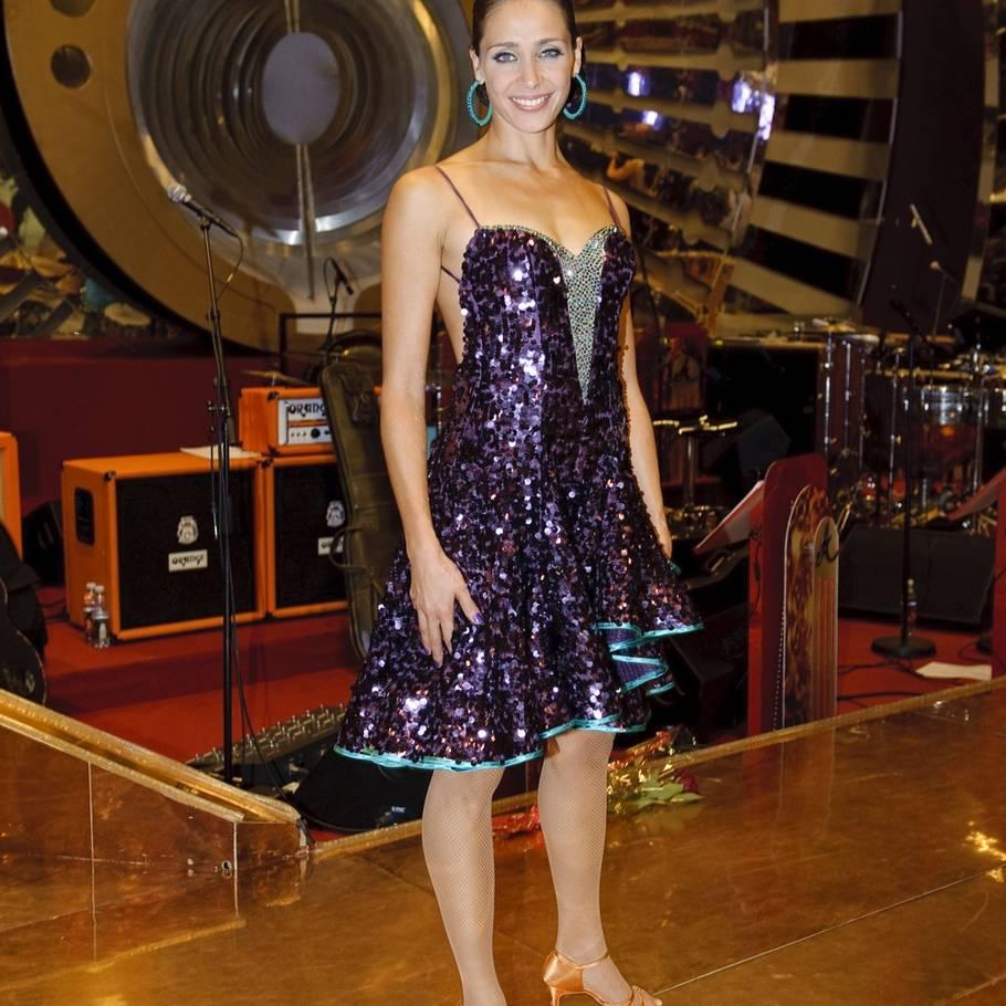 8c2b9dc46983 Så smuk er Laura i en Vild Med Dans-kjole. Mon ikke, hun