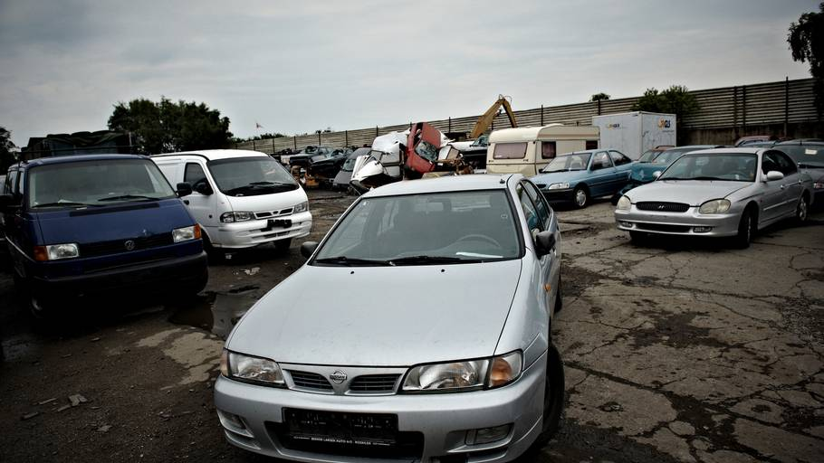 skrotbiler til salg