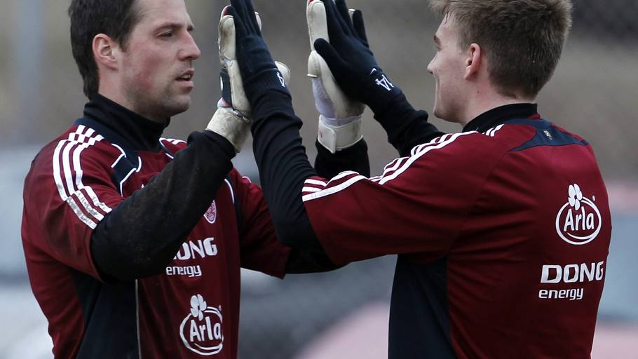 High-five for dit klubvalg, Nicklas (Foto: Lars Poulsen)