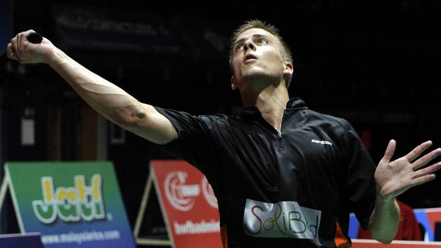 Hans-Kristian Vittinghus var i problemer, men vandt alligevel sin single. (Foto: AP/Tom Hevezi)