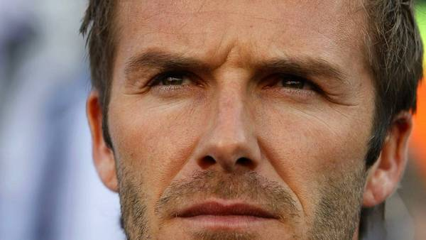 David Beckham kommer ikke til at spille fodbold for Team GB under OL i London. (Foto: AP/Kirsty Wigglesworth)