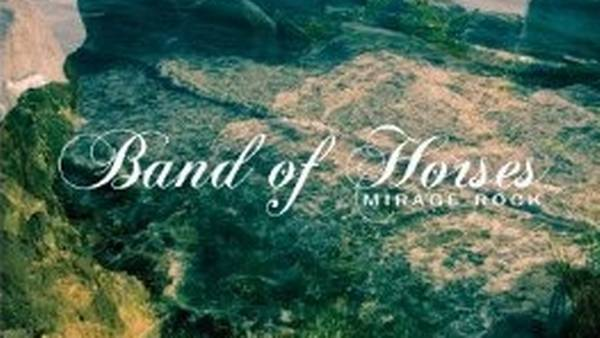 Coveret til Band of Horses' nye album, 'Mirage Rock'.