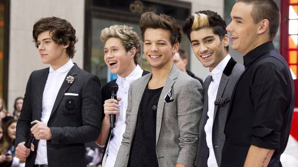 Drengene fra One Direction. (Foto: AP)