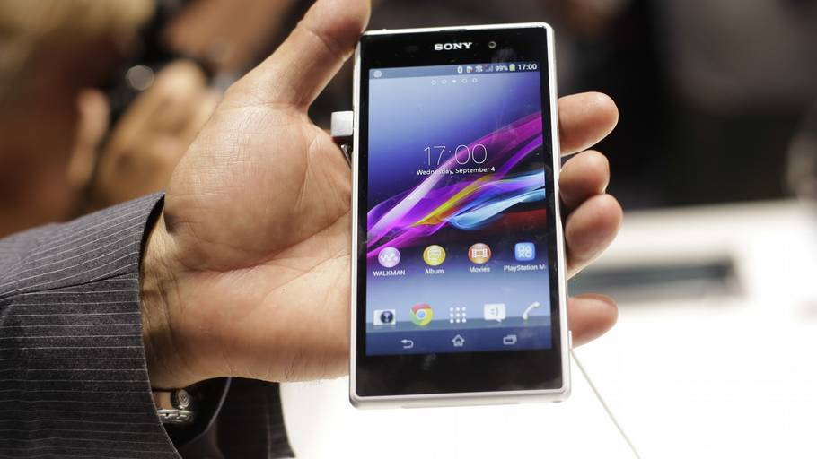 Sony Xperia Z1 er årets high-end smartphone. (Foto: AP)
