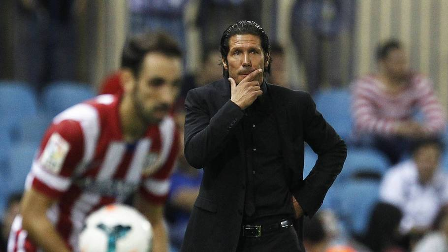 Diego Simeone mener, at Real Madrid er favoritter til mesterskabet (Foto: AP)