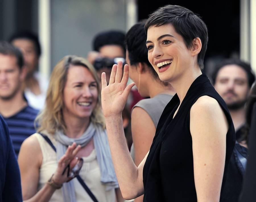 Anne Hathaway var flere uger om at slippe rollen som Fantine. (Foto: Chris Pizzello/AP)