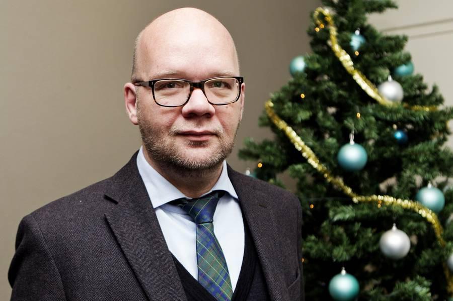 - Ja, vi er forfængelige tøser, indrømmer Lars Hjortshøj, der næste år er klar med et nyt show. (Arkivfoto: Tycho Gregers).