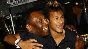 Pelé missede Neymar og co.'s kamp mod Mexico. (Foto: AP)