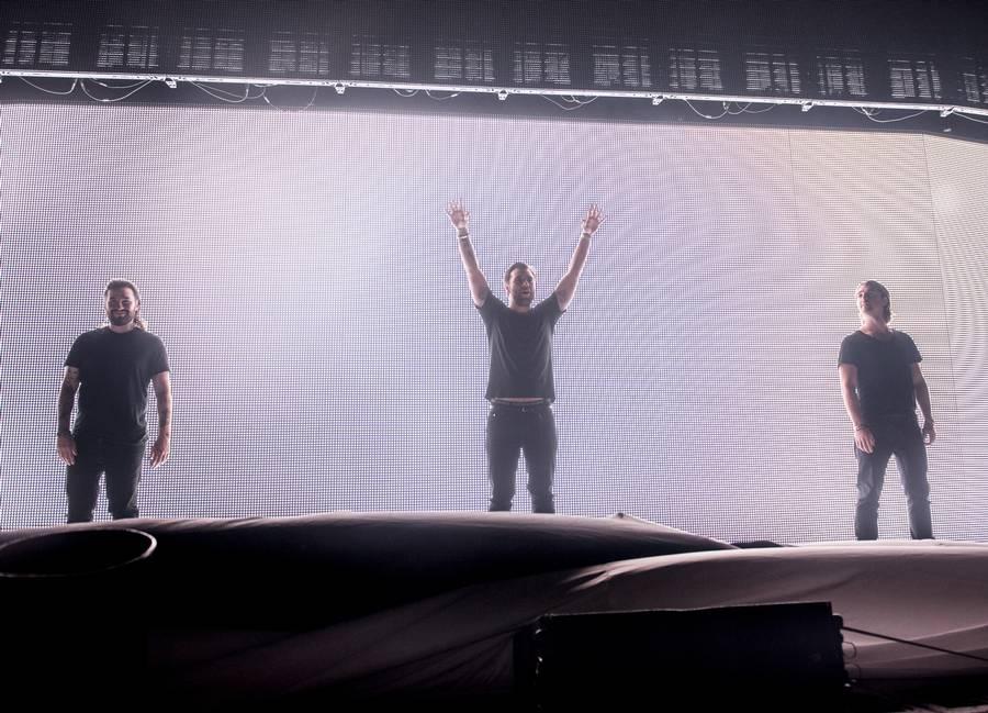 Swedish House Mafia - festarrangører fra Stockholm. (Foto: Anthon Unger)