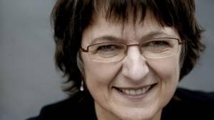 Radiovært Margaret Lindhardt fra Danmarkss ældste ønskeprogram. Foto: Carsten Lauridsen