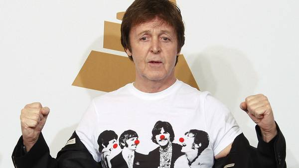 Paul McCartney - still going strong. (Foto: AP)