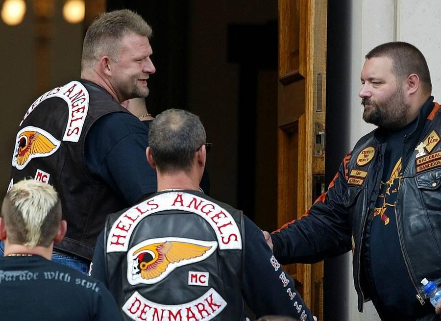 'Pølse Bo' Steffensen var tidligere officer i HA - nu er han vicepræsident i Bandidos' Aalborg-afdeling. (Foto: Claus Bonnerup)