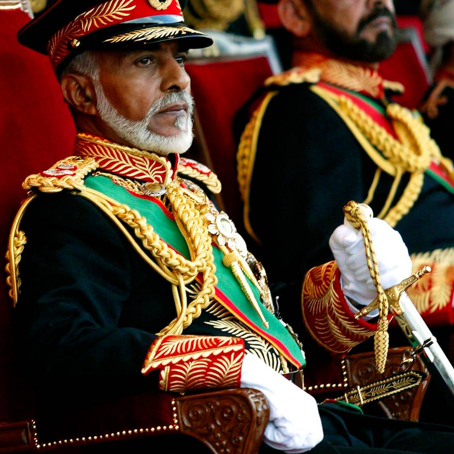 ec5fab04f883 Den 60-årige sultan Qaboos bin Said er en levende legende. (Foto