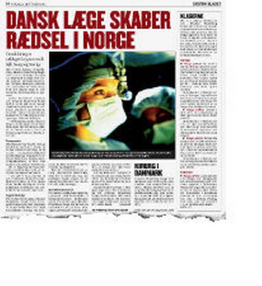 Hverken norske, svenske eller danske aviser har nogensinde fået et billede af Johanne Brandborg Krogh.