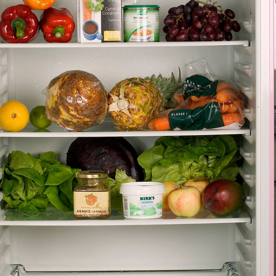 holdbarhed i køleskab
