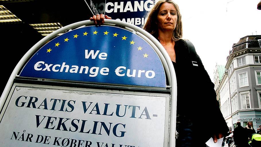 ekstrabladet veksle euro til danske kroner