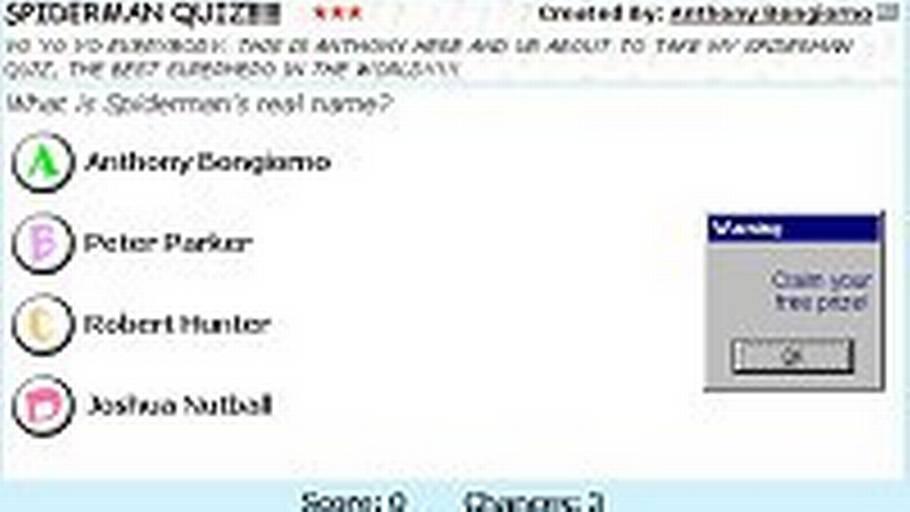 lav din egen quiz på nettet