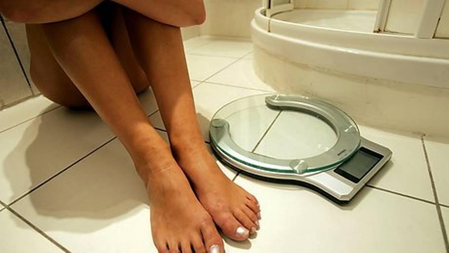 begyndende spiseforstyrrelse