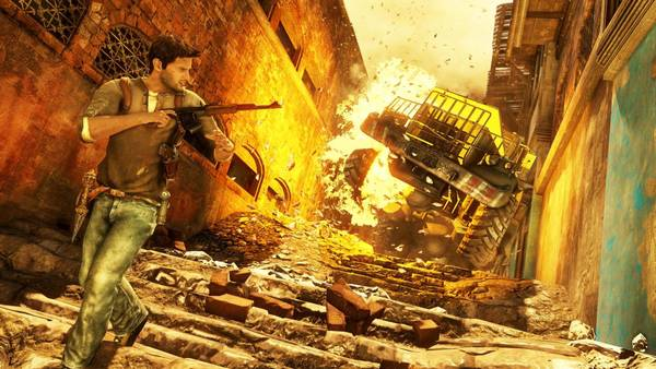 'Uncharted 2: Among Thieves': Årets mest stemningsfyldte action-spil.