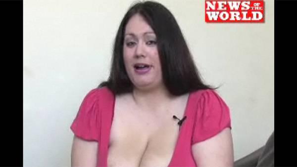 Kvinde chokeret af stor pik