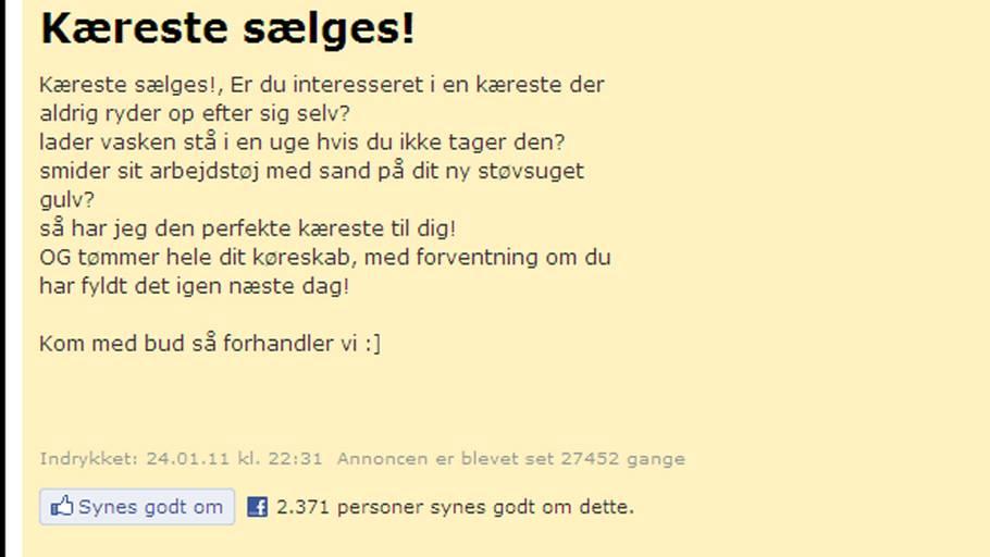 kæreste citater dansk Køb min kæreste – Ekstra Bladet kæreste citater dansk