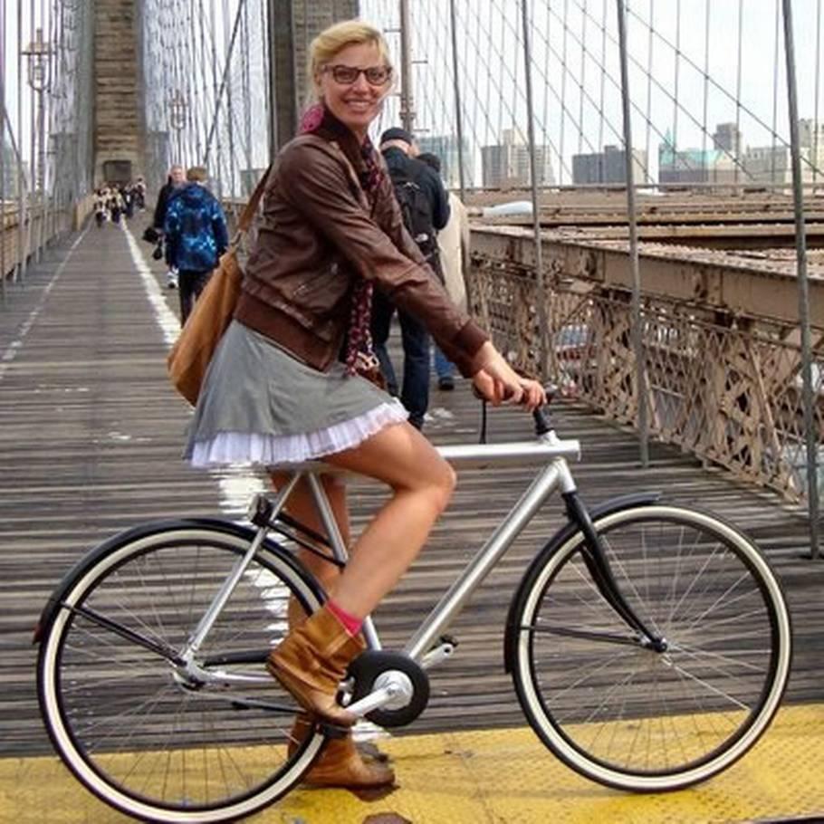 frække cykelpiger