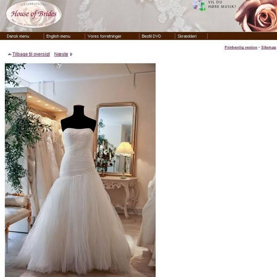 23247ee5 Efter flere års økonomiske trakasserier er The Wedding Store (tidligere  House of Brides) gået