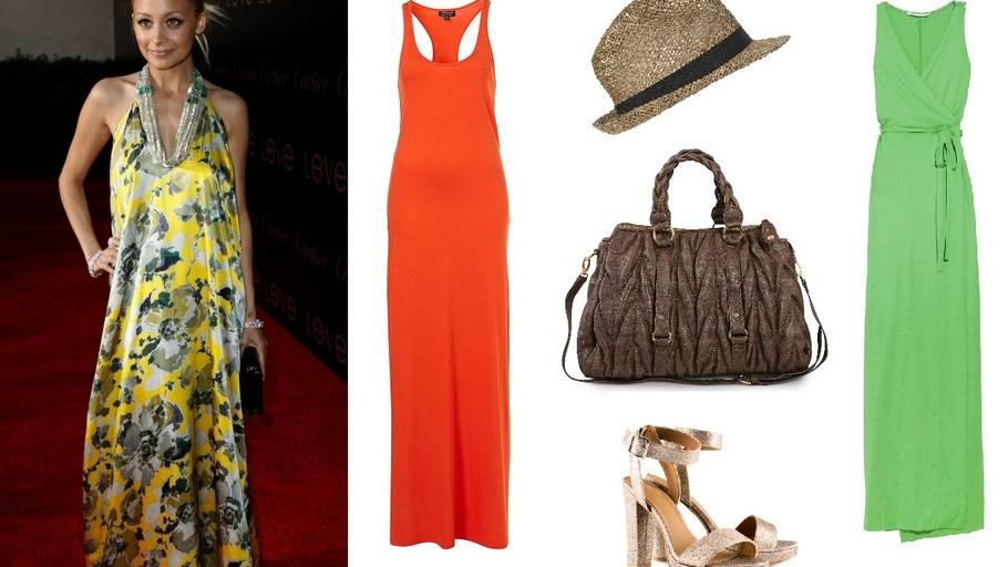8ee456ca7031 Nicole Richie har altid været glad for maxi-kjoler