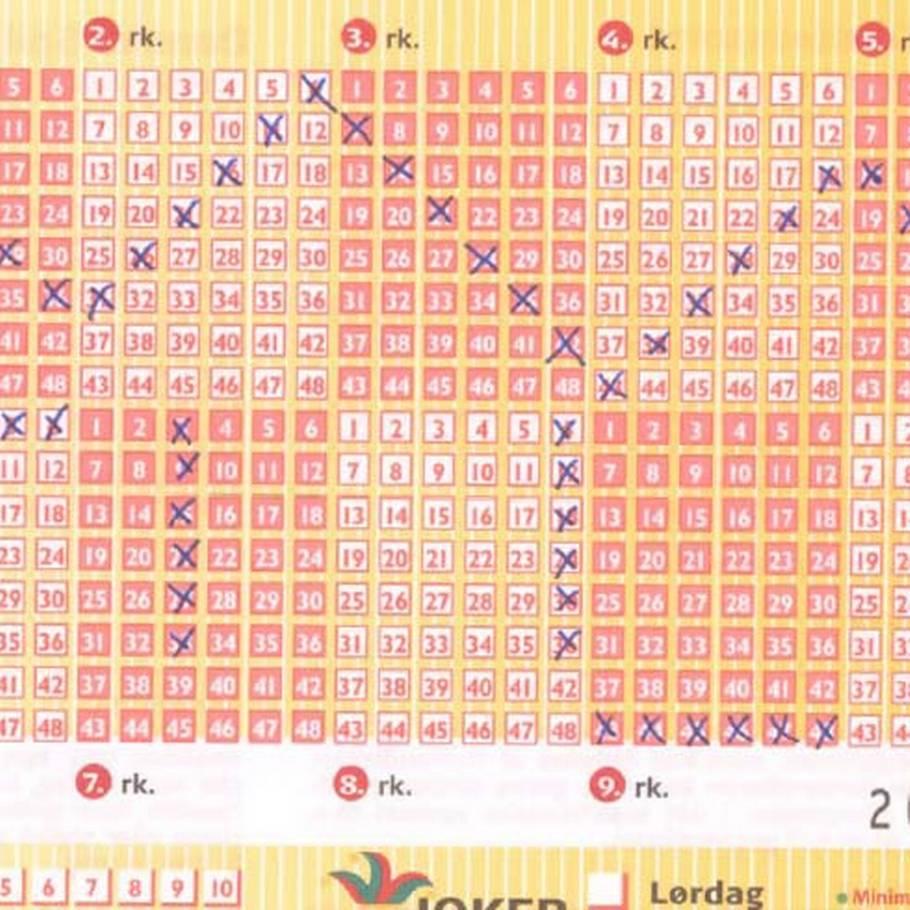Her Er Lotto Rækkerne Du Ikke Skal Spille Ekstra Bladet