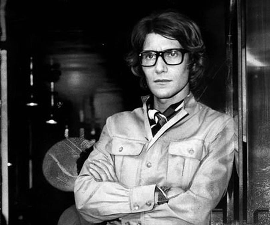 En ung Yves Saint Laurent i 60'erne