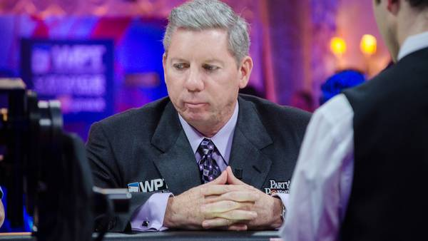 Mike Sexton ved pokerbordet. Foto: WPT Europe