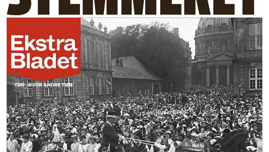 1915: Kvinder får stemmeret i Danmark – Ekstra Bladet