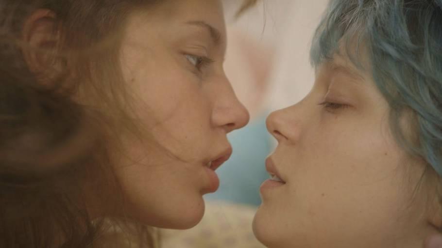 Lesbisk sex scene i film