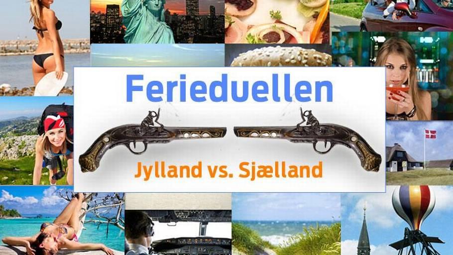 jylland vs sjælland