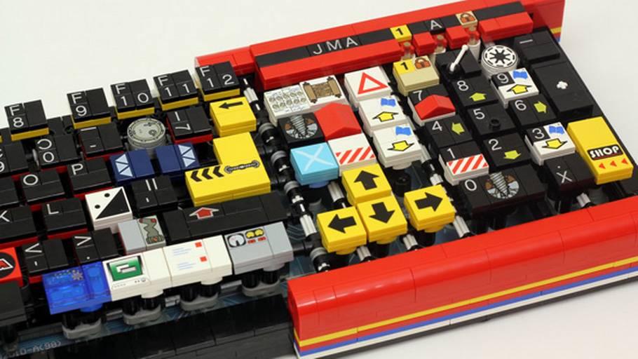 Byg Dit Eget Computer Tastatur I Lego Ekstra Bladet