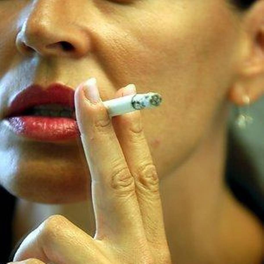 at rygning