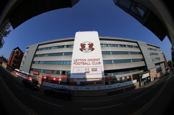 London-klubben Leyton Orient spiller til dagligt i den fjerdebedste engelske række, League Two. Foto: Nigel French/Ritzau Scanpix
