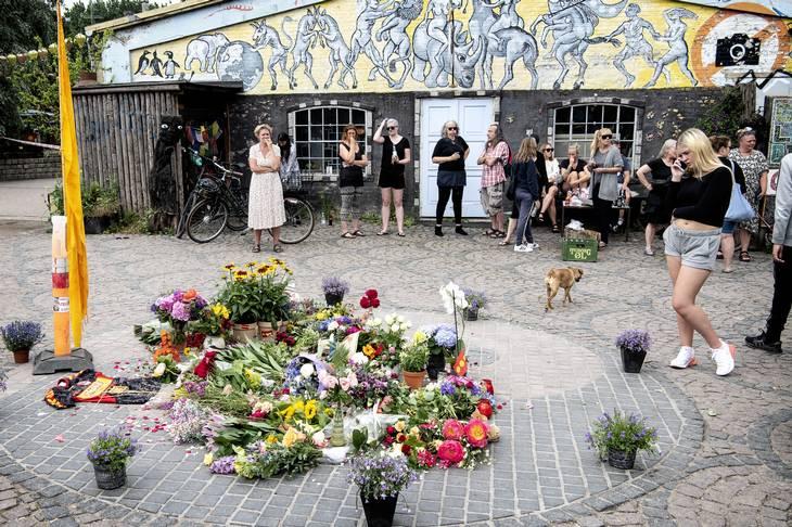 Blomster ved Pusher Street. Foto: Nils Meilvang/Ritzau Scanpix
