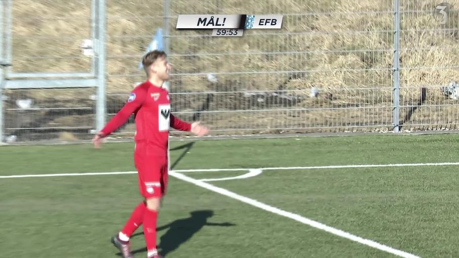 2a5734b5a71 Anders Dreyer scorede to mål, da Esbjerg slog Thisted og kravlede op på  andenpladsen i 1. division
