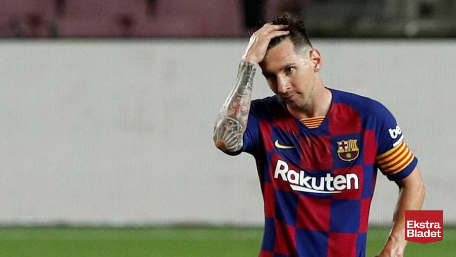 Chok i Barcelona: Messi klar til at skride